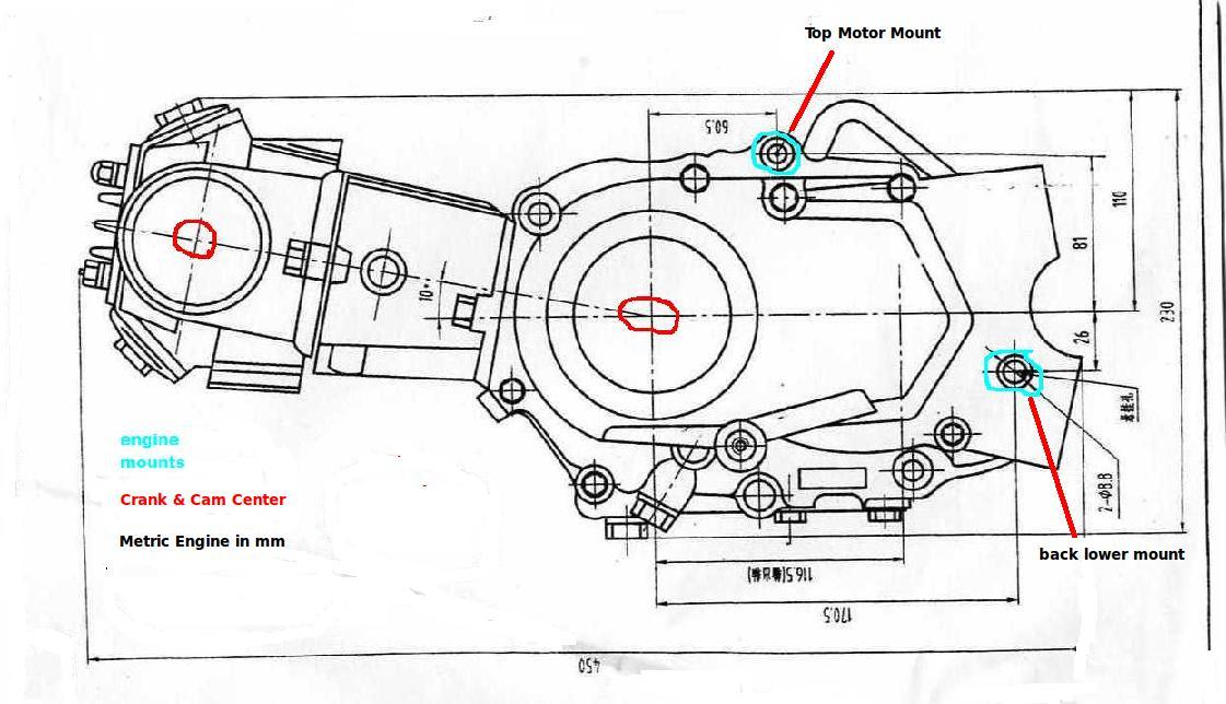 Схема проводки питбайка