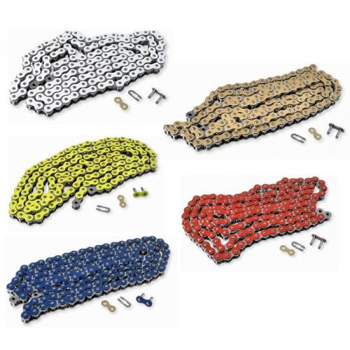 Разноцветные цепи для питбайка