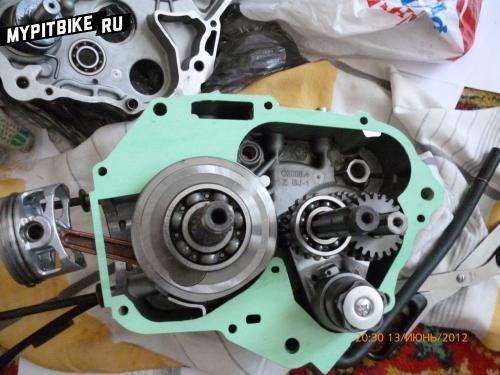 ремонт двигателя питбайка