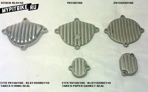 Определяем мотор питбайка по виду крышки
