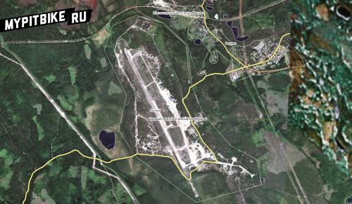 Бывший военный аэродром Вещево