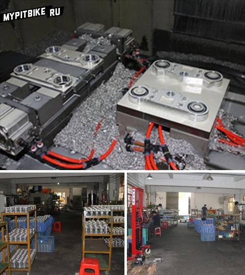 Производство CNC деталей YCF