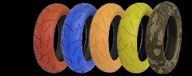 Color wheels pitbike