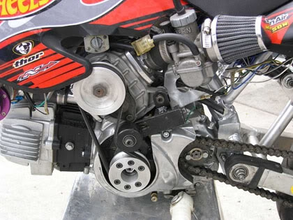 Pitbike Supercharger