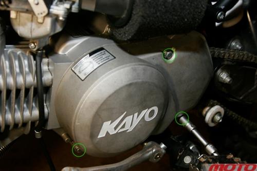 Перебираем моторы питбайков