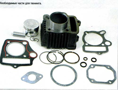 pitbike tuning kit
