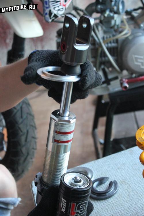 Проставка для пружины амортизатора питбайка