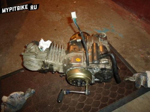 снятый мотор